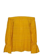 Blouses woven - BRASS YELLOW