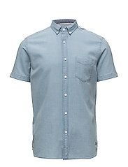 Shirts woven - BLUE LIGHT WASH