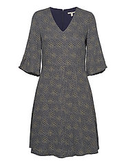 Dresses light woven - NAVY 4