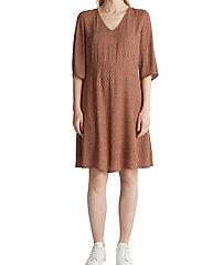 Esprit Casual - Dresses light woven - korte kjoler - rust brown 4 - 0