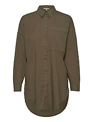 Blouses woven - OLIVE