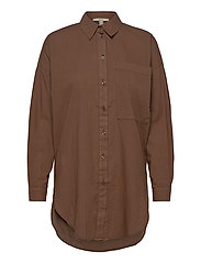 Blouses woven - RUST BROWN