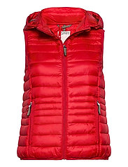 Vests outdoor woven - RED