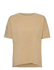 T-Shirts - BEIGE
