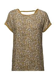 T-Shirts - HONEY YELLOW