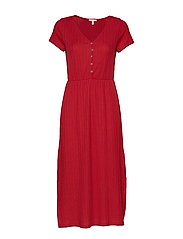 Dresses knitted - RED
