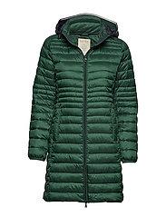 Coats woven - BOTTLE GREEN