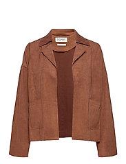 Jackets indoor woven - BROWN