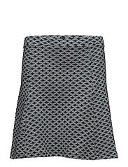 Skirts knitted - PETROL BLUE