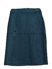 Skirts woven - PETROL BLUE