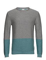 Sweaters - AQUA GREEN