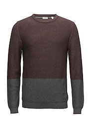Sweaters - DARK MAUVE