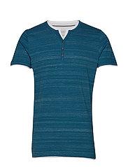 T-Shirts - PETROL BLUE