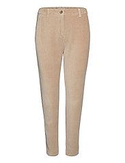 Pants woven - CREAM BEIGE
