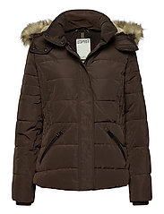 Jackets outdoor woven - DARK BROWN
