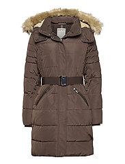 Coats woven - DARK BROWN
