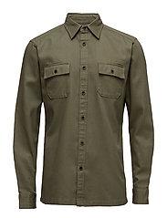 Shirts woven - DARK KHAKI