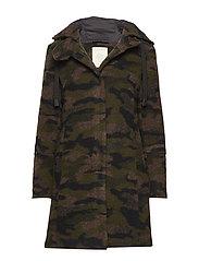 Coats woven - OLIVE
