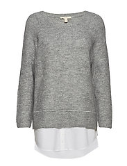 Sweaters - LIGHT GREY 5