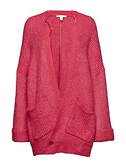 Sweaters cardigan - DARK PINK