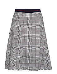 Skirts knitted - GARNET RED