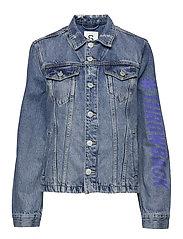 Jackets outdoor denim - BLUE MEDIUM WASH