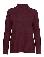 Sweaters - BORDEAUX RED 5