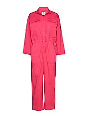 Overalls woven - PINK