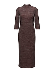 Dresses knitted - DARK RED 5