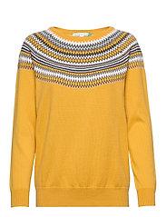 Sweaters - HONEY YELLOW 2