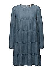 Dresses light woven - GREY BLUE