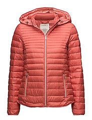 Jackets outdoor woven - CORAL ORANGE