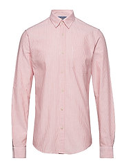 Shirts woven - RED ORANGE