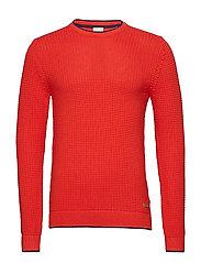 Sweaters - RED ORANGE