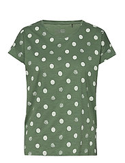T-Shirts - KHAKI GREEN