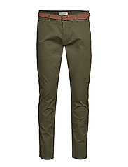 Pants woven - OLIVE