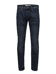 Pants denim - BLUE MEDIUM WASH