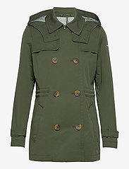 Esprit Casual - Jackets outdoor woven - trenchs - khaki green - 0
