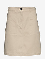 Esprit Casual - Skirts woven - short skirts - beige - 0