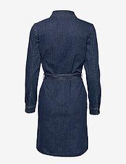 Esprit Casual - Dresses denim - skjortekjoler - blue dark wash - 1