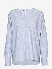 Esprit Casual - Blouses woven - langærmede bluser - light blue - 0