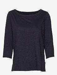 Esprit Casual - T-Shirts - langærmede toppe - navy - 0