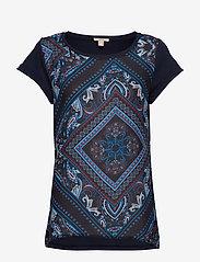 Esprit Casual - T-Shirts - t-shirts - navy 5 - 0