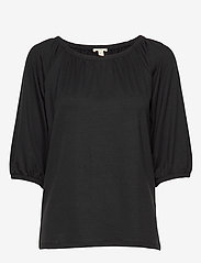 Esprit Casual - T-Shirts - basic t-shirts - black - 0