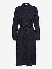 Esprit Casual - Dresses light woven - midi dresses - navy - 0