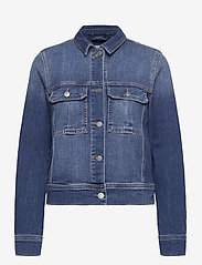 Esprit Casual - Jackets indoor denim - vestes en jean - blue medium wash - 0