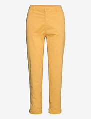 Esprit Casual - Pants woven - chinos - sunflower yellow - 2