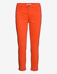 Pants woven - ORANGE RED
