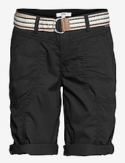 Esprit Casual - Shorts woven - bermudas - black - 2