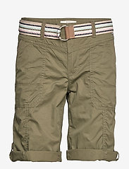 Esprit Casual - Shorts woven - bermudas - khaki green - 2